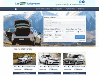 carrentalturkey.com screenshot
