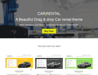 carrentalwordpresstheme.net screenshot