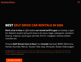 carrentingoa.com screenshot