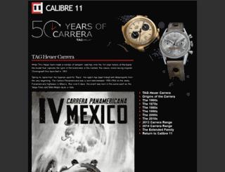 carrera.calibre11.com screenshot