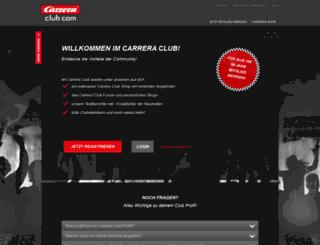 carreraclub.com screenshot