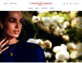 carreraycarrera.com screenshot