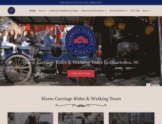 carriagetour.com screenshot