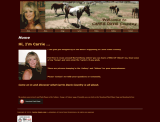 carrie-davis.com screenshot