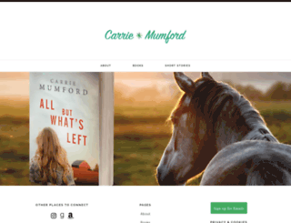 carriemumford.com screenshot