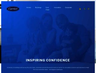 carrier.com screenshot