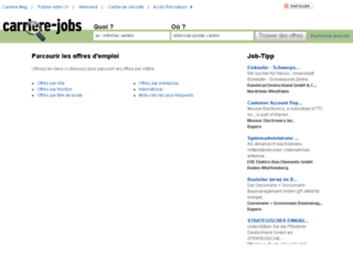 carriere-jobs.ch screenshot