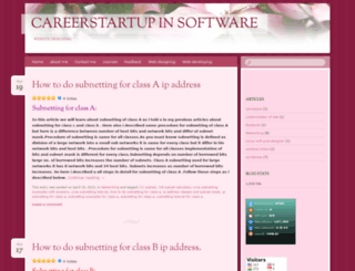 carrierstartup.wordpress.com screenshot