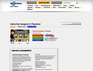 carriethecaregiver2.shockwave.com screenshot