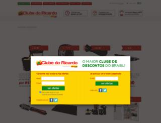 carrinho.clubedoricardo.com.br screenshot