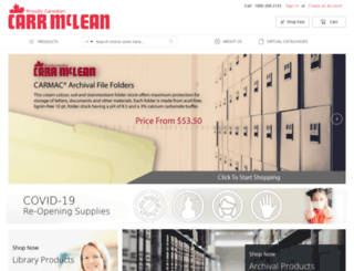 carrmclean.com screenshot