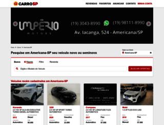 carroamericana.com.br screenshot
