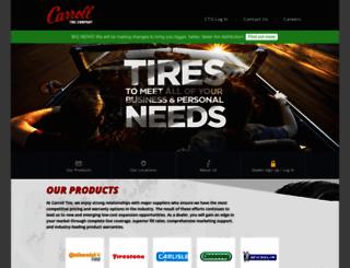 carrolltire.com screenshot