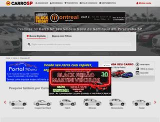 carropiracicaba.com.br screenshot