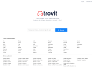 carros.trovit.com.br screenshot