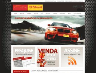 carrosimportadosapollo.com.br screenshot