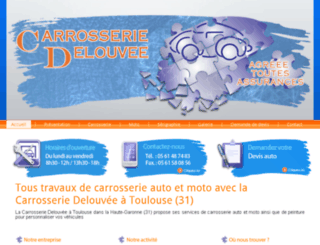 carrosserie-delouvee.fr screenshot