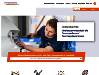 carrosseriesuisse.ch screenshot