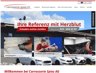 carrosserieteam.ch screenshot