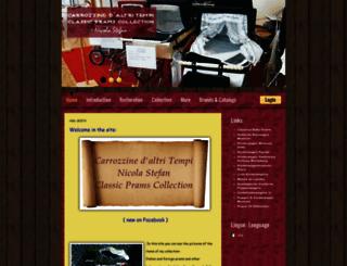 carrozzinedaltritempi.it screenshot