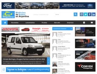 cars-magazine.com.ar screenshot