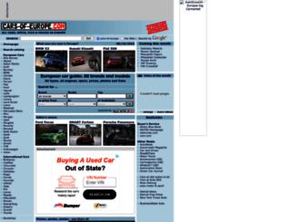 cars-of-europe.com screenshot