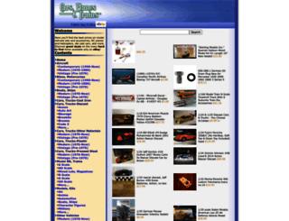 cars-planes-trains.com screenshot