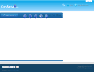 cars-rental.com screenshot