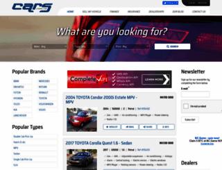 cars.com.na screenshot