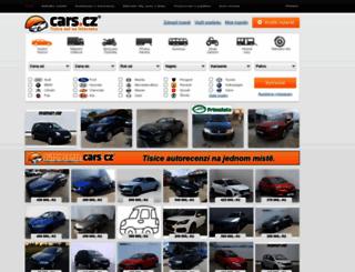 cars.cz screenshot