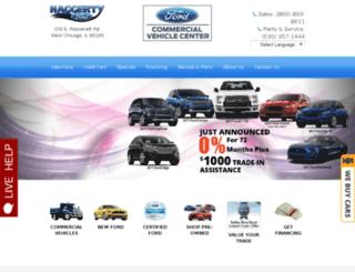 cars.haggertyford.com screenshot