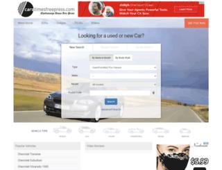 cars.timesfreepress.com screenshot