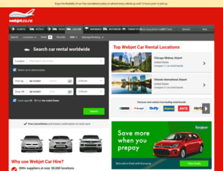 cars.webjet.co.nz screenshot