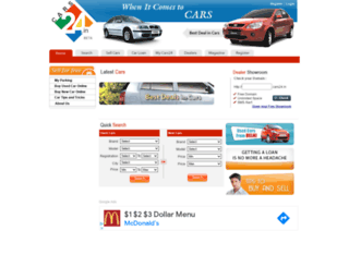 cars24.in screenshot