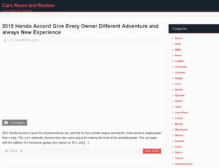 carsautoinfo.com screenshot