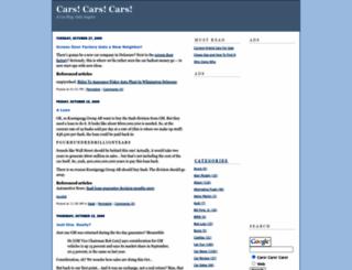 carscarscars.blogs.com screenshot