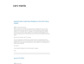carscarsmania.blogspot.com screenshot