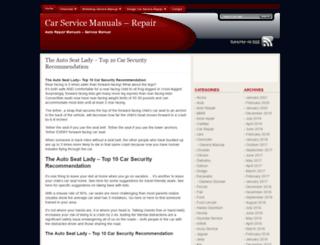 carservicemanuals.repair7.com screenshot