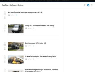 carsflow.kinja.com screenshot