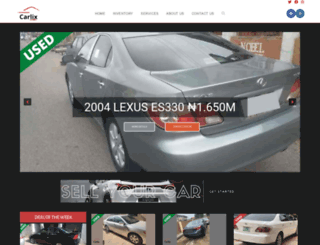 carsforsale.com.ng screenshot