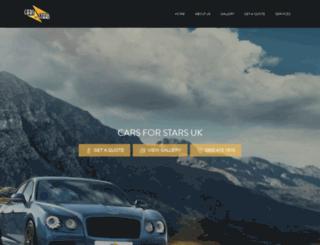 carsforstars.co.uk screenshot