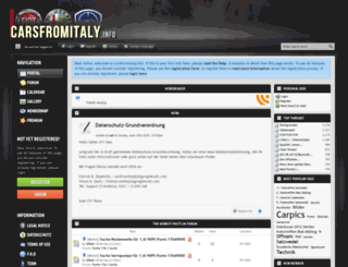carsfromitaly.info screenshot