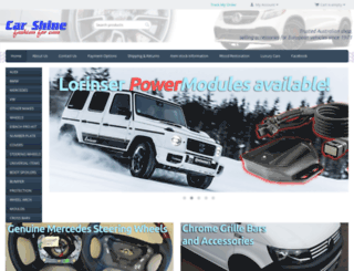 carshine.com.au screenshot