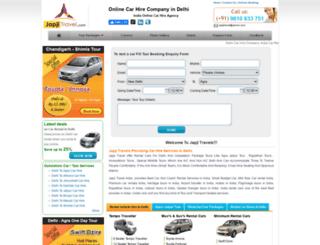 carshiredelhi.com screenshot