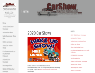 carshownationals.com screenshot