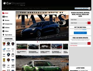 carshowroom.com.au screenshot