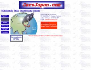carsjapan.com screenshot