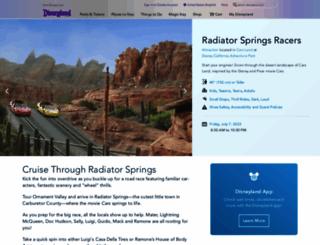 carslandracers.com screenshot