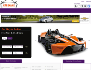 carsname.com screenshot