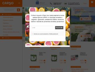 carso.si screenshot